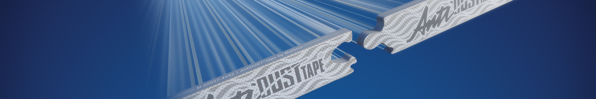 Tape for polycarbonate click systems